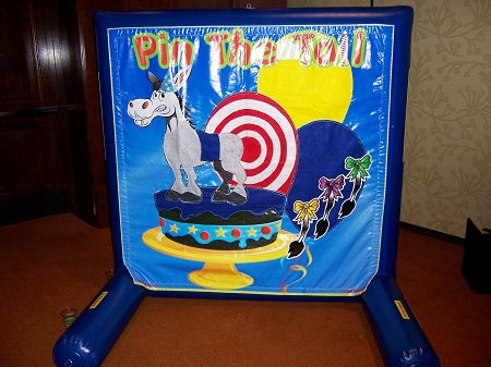 Used Pin the Tail on the Donkey Game - Sealed Air Frame