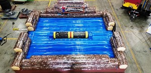 Lumberjack Challenge Motorized Log Rolling Game