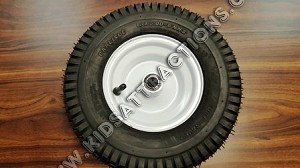 "13"" tall MD2 and MD4 wheel and tire assy"