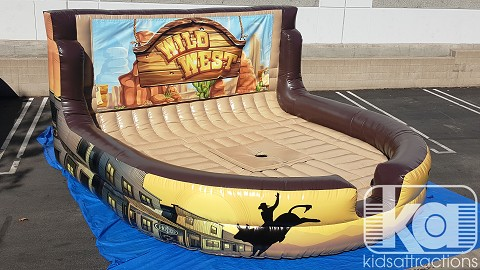 Western Themed Mechanical Bull Inflatable for sale